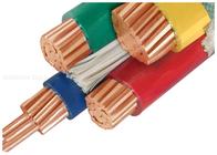 De Buena Calidad XLPE aisló el cable de alimentación & cables aislados PVC del conductor de cobre 1000V modificados para requisitos particulares con la media base tres a la venta
